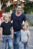 Photo of Jeroen van der Boom & his  Son  Luuk van der Boom